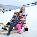 Palandöken'de Hem Kayak Hem Eğlence