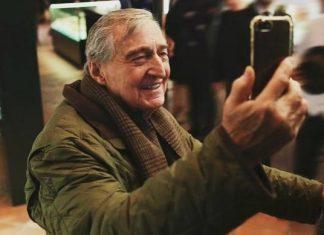 Rahmi Koç'un Selfie Coşkusu