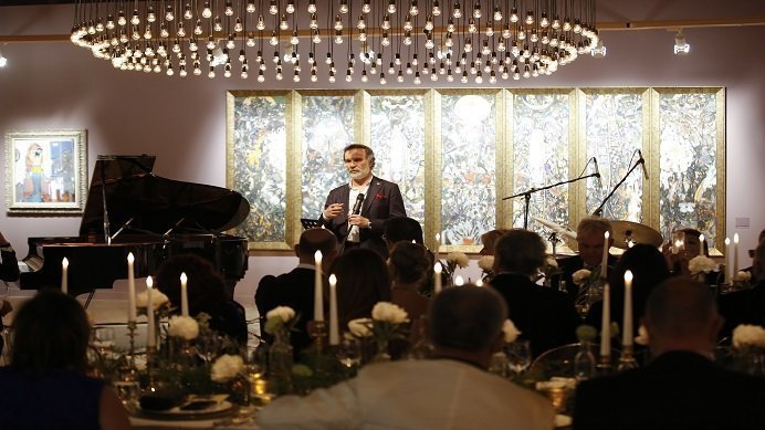 Sakit Mammadov'un Sergisi Sanatseverlerle Buluştu