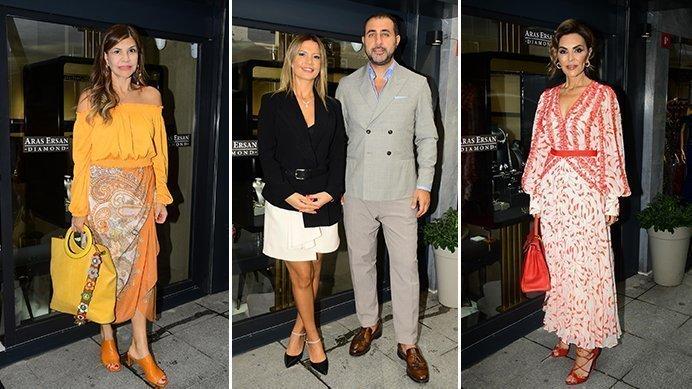 Aras Ersan İkinci Mağazalarını Nişantaşı'nda Renkli Bir Açılışla Kutladı